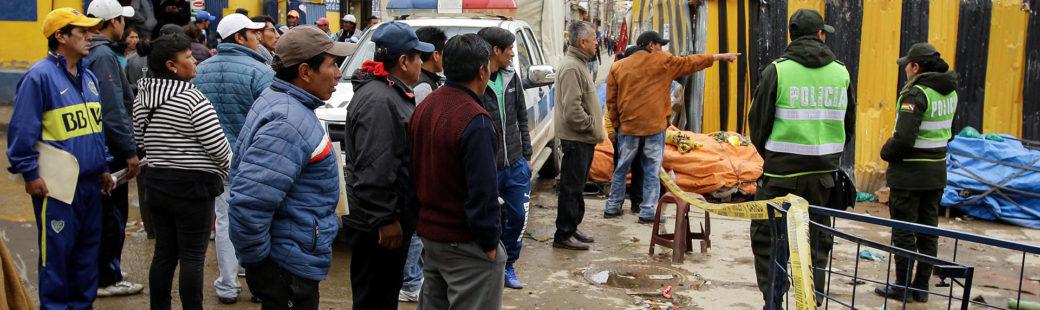 La Policía identificó al sospechoso de la segunda explosión en Oruro